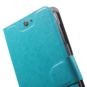 Horse peňaženkové puzdro pre mobil Acer Liquid Z530 - modré - 7