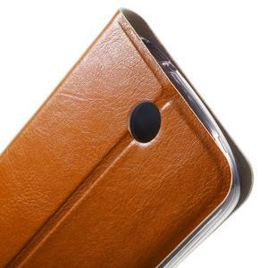 Horse peněženkové pouzdro na mobil Acer Liquid Z530 - hnědé - 7