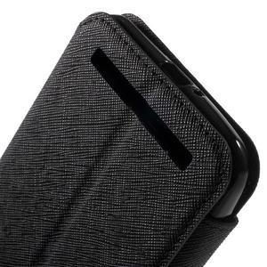 Diary peněženkové pouzdro s okýnkem na Asus Zenfone Max - černé - 7