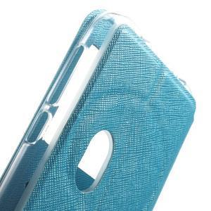 Peněženkové pouzdro s okýnkem na Asus Zenfone Zoom - modré - 7