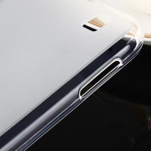 Gélový matný obal pre mobil Asus Zenfone Zoom - biely - 7