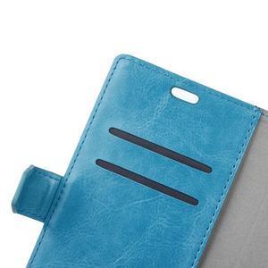 Sean peňaženkové puzdro na mobil Huawei Nova - modré - 7