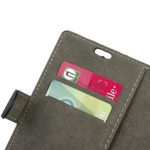 Wally PU kožené puzdro na mobil Huawei Nova - čierne - 7