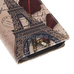Peňaženkové puzdro na Samsung Galaxy A3 - Eiffelova veža - 7