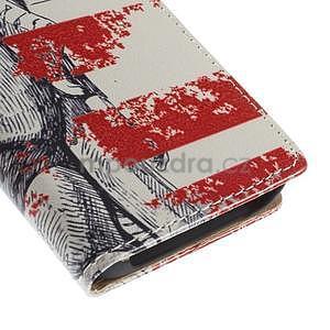 Peňaženkové puzdro pre Samsung Galaxy A3 - Socha Svobody - 7