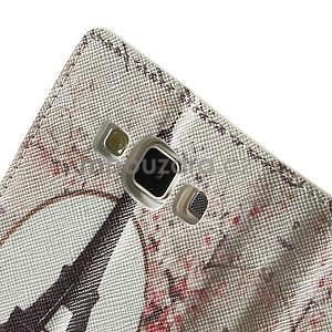 Peňaženkové zapínací puzdro na Samsung Galaxy A5 - Eiffolova veža - 7