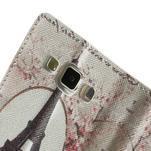Peňaženkové zapínací puzdro na Samsung Galaxy A5 - Eiffolova veža - 7/7