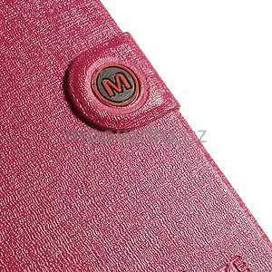 Rose zapínací pouzdro na Samsung Galaxy S5 mini - 7