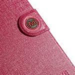 Rose zapínací pouzdro na Samsung Galaxy S5 mini - 7/7