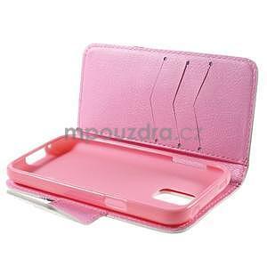 Zapínací peňaženkové puzdro pre Samsung Galaxy S5 mini - kvetinová sova - 7