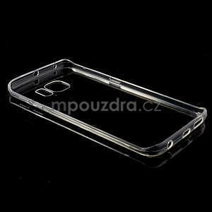 Transparentní hybridný gélový obal na Samsung Galaxy S6 Edge - 7
