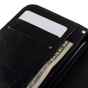 Styles peňaženkové puzdro pre mobil Lenovo A319 - modrý motýľ - 7