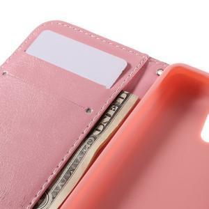 Styles peňaženkové puzdro pre mobil Lenovo A319 - kvetiny - 7