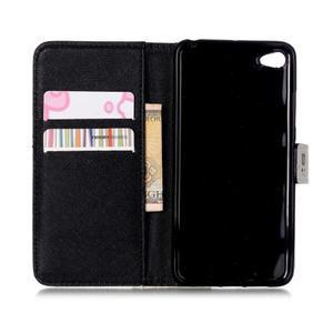 Style peňaženkové puzdro pre mobil Lenovo S90 - vtačie pierka - 7