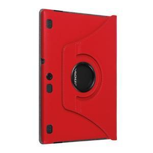 Puzdro s otočnou funkciou pre tablet Lenovo Tab 2 A10-70 - červené - 7