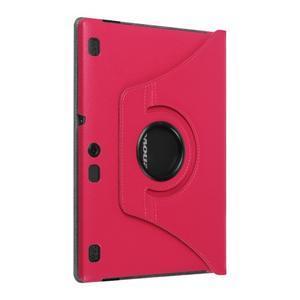 Puzdro s otočnou funkciou pre tablet Lenovo Tab 2 A10-70 - rose - 7
