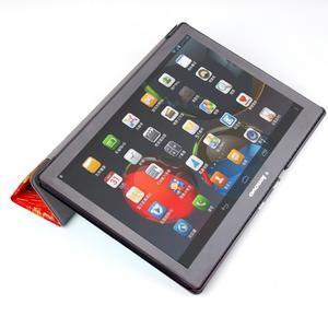 Polohovatelné pouzdro na tablet Lenovo Tab 2 A10-70 - umělecká mabla - 7
