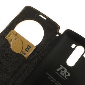 Diary pouzdro s okýnkem na mobil LG G3 - žluté - 7