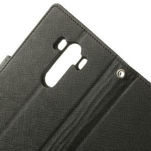 Goos peněženkové pouzdro na LG G3 - černé - 7