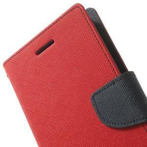 Goos peňaženkové puzdro pre LG G3 - červené - 7