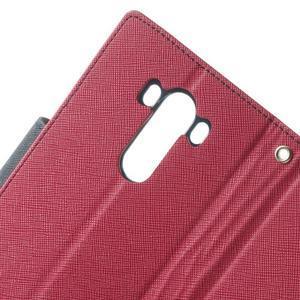 Goos peněženkové pouzdro na LG G3 - rose - 7