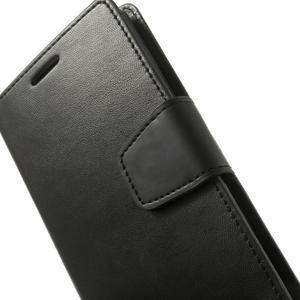 PU kožené pouzdro na mobil LG G3 - černé - 7
