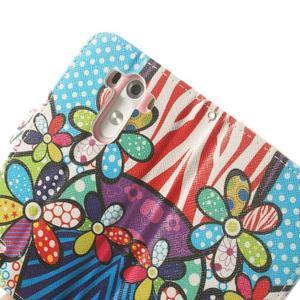 Ultra motive peňaženkové puzdro pre LG G3 - maľované ketiny - 7