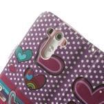 Ultra motive peňaženkové puzdro pre LG G3 - srdiečka - 7/7