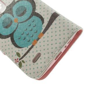 Ultra motive peňaženkové puzdro pre LG G3 - sovička - 7