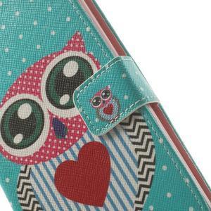 Ultra motive peňaženkové puzdro pre LG G3 - zamilovaná sova - 7