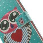 Ultra motive peňaženkové puzdro pre LG G3 - zamilovaná sova - 7/7