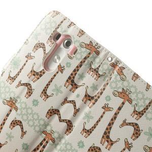 Ultra motive peněženkové pouzdro na LG G3 - žirafy - 7