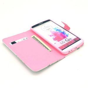 Obrázkové puzdro pre mobil LG G3 - kvetiny - 7