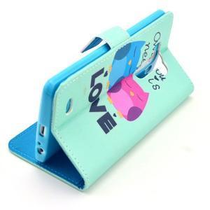 Obrázkové puzdro pre mobil LG G3 - soví láska - 7