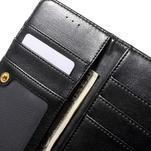 Patrové peněženkové pouzdro na mobil LG G3 - černé - 7/7
