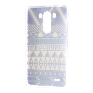 Silks gelový obal na mobil LG G3 - geo tvary - 7
