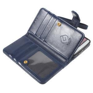 Patrové peněženkové pouzdro na mobil LG G3 - tmavěmodré - 7