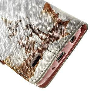 Zapínací peňaženkové puzdro pre LG G3 s - láska - 7