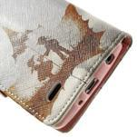 Zapínacie peňaženkové puzdro pre LG G3 s - láska - 7/7