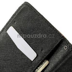 Zapínací peňaženkové puzdro pre LG G3 s - květina mandala - 7
