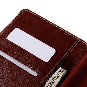 Koženkové puzdro pre mobil LG G4 - Henna - 7