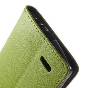 Leaf peněženkové pouzdro na mobil LG G4 - zelené - 7