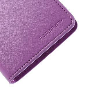 Sonata peněženkové pouzdro na LG G4 - fialové - 7