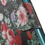 Wall peňaženkové puzdro pre LG G5 - kvetiny - 7/7