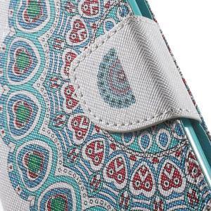 Wall peňaženkové puzdro pre LG G5 - pattern - 7