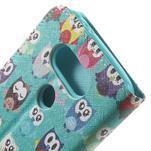 Wall peňaženkové puzdro pre LG G5 - malej sovy - 7/7