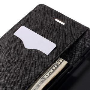 Goos stylové PU kožené pouzdro na LG G5 - hnědé - 7