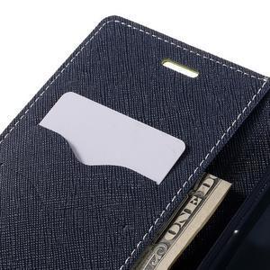 Goos stylové PU kožené puzdro pre LG G5 - zelené - 7