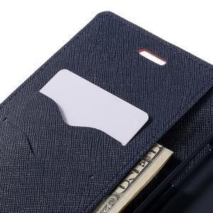 Goos stylové PU kožené puzdro pre LG G5 - červené - 7