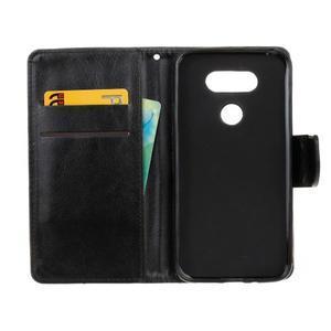 Lees peňaženkové puzdro pre LG G5 - čierne - 7